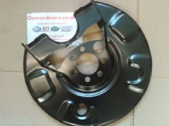 Brake disc backing plate Rear